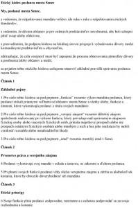 Etický kódex poslanca mesta Senec-1
